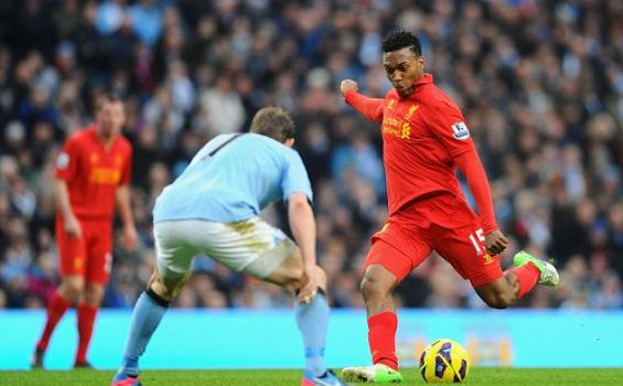 Man City vs Liverpool: Gol Bersejarah buat Sturridge