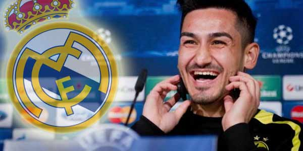 Ilkay Gundogan diincar Real Madrid
